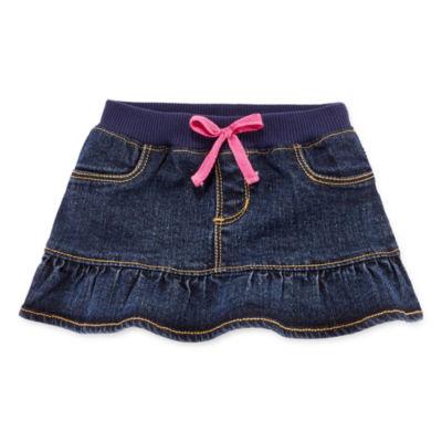 Arizona First Denim Skort - Baby Girls 3m-24m