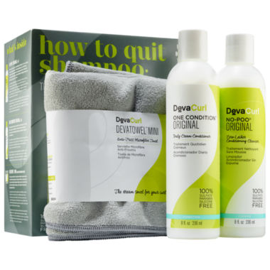 jcpenney.com | DevaCurl How to Quit Shampoo: The Original Cleanse & Condition Curl Kit
