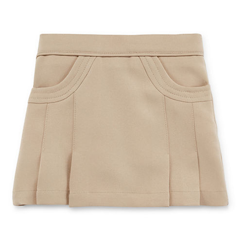 IZOD® Scoop Pocket Scooter Skort - Toddler Girls 2t-4t