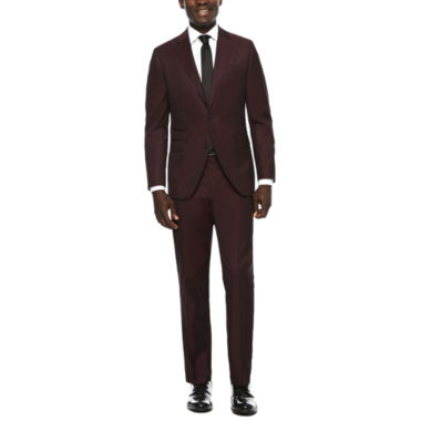 jcpenney.com | JF J. Ferrar® Enlightened Merlot Suit Separatess - Slim Fit