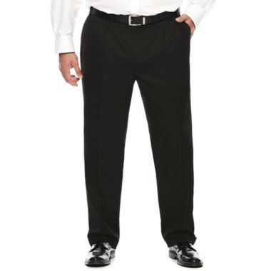 jcpenney.com | Collection by Michael Strahan Textured Twill Pleated Pants - Big &Tall