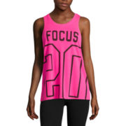 City Streets® Graphic Muscle Tank Top - Juniors