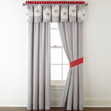 jcpenney.com | Home Expressions™ Julia 2-pk. Rod-Pocket Curtain Panels