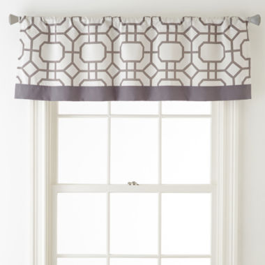 jcpenney.com | Studio™ Kenmare Rod-Pocket/Back-Tab Lined Valance