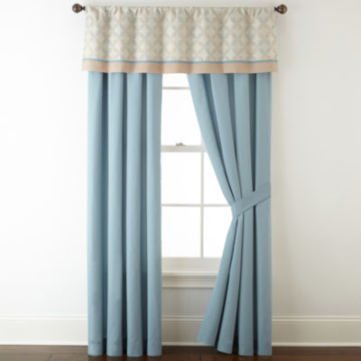 Studio™ Dylan Rod-Pocket 2-Pack Curtain Panels