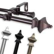 "Rod Desyne Esta ⅝"" Adjustable Curtain Rod Collection"