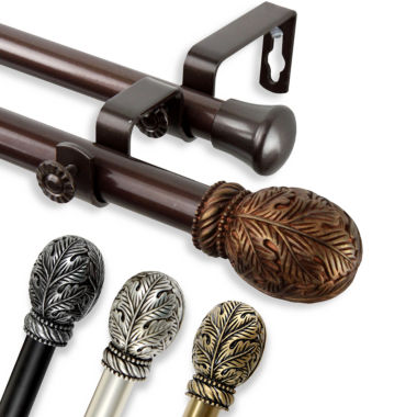 "jcpenney.com | Rod Desyne Forest 13/16"" Adjustable Curtain Rod Collection"
