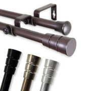 "Rod Desyne Rio 13/16"" Adjustable Curtain Rod Collection"
