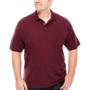 Van Heusen® Short-Sleeve Striped Polo - Big & Tall