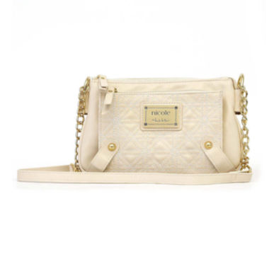 jcpenney.com | Nicole By Nicole Miller Suzie Quilted Crossbody Bag