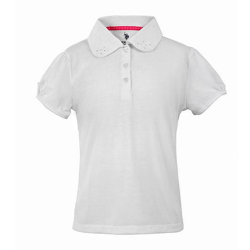 U.S. Polo Assn.® Short-Sleeve Knit Polo - Girls 7-16