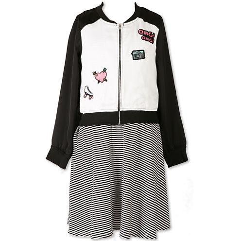 Speechless Jacket Dress Big Kid Girls Plus