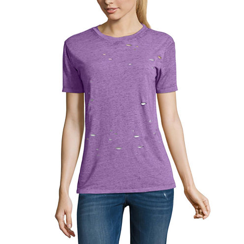 Arizona Destructed T-Shirt- Juniors