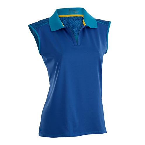 Nancy Lopez Golf Favor Sleeveless Polo
