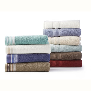 Home Expressions Bath Towel 2 pc Rug Collection