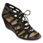 a.n.a® Alex Wedge Sandals