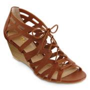 a.n.a® Alex Wedge Sandals