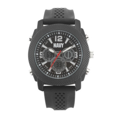 jcpenney.com | Wrist Armor® C21 Mens US Navy Rubber Strap Chronograph Watch