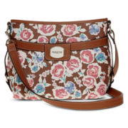 Rosetti® Round About Outback Crossbody Hobo Bag