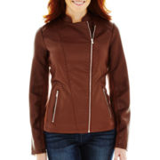 Worthington® Faux-Leather Moto Jacket