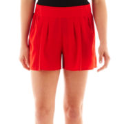 XOXO® Pleated Shorts