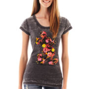Mickey Mouse Short-Sleeve Burnout Tee