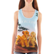 Lion King Sublimated Racerback Tank Top
