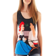 Little Mermaid Sublimated Racerback Tank Top