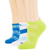adidas® 3-pk. climalite® Cushioned Graphic No-Show Socks