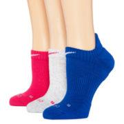 Nike® 3-pk. Dri-FIT Cushioned No-Show Socks