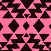 Black/pink Tribal
