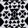 Black/wht Tribal