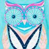 Fresh Aqua Owl