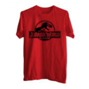 Jurassic World Logo Graphic Tee