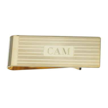 jcpenney.com | Personalized Gold-Plated Engraved Lines Money Clip