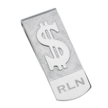 jcpenney.com | Personalized Dollar Sign Money Clip