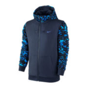 Nike® Club Camo Full-Zip Terry Hoodie