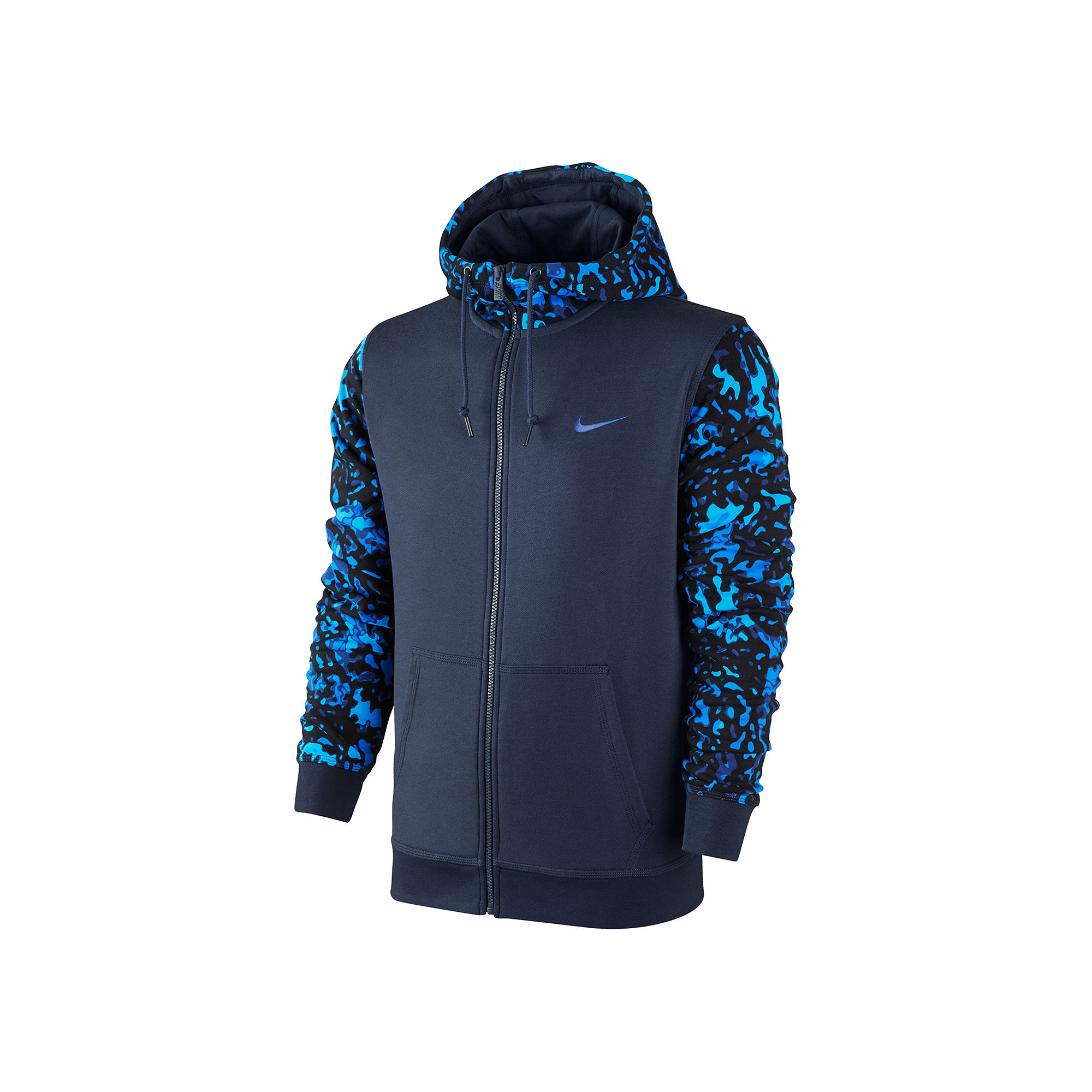 upc 885179640093 nike club camo full zip terry hoodie. Black Bedroom Furniture Sets. Home Design Ideas