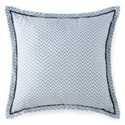 JCPenney Home™ Cotton Classics Chevron Reversible Square Decorative Pillow