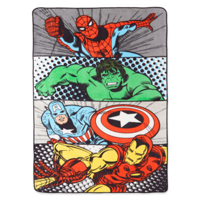 Marvel® Comics Avengers® Blanket