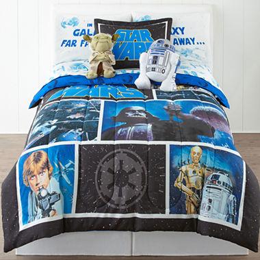 Disney Star Wars Twin Full Reversible Comforter Bonus
