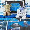 Star Wars Twin/Full Reversible Comforter + BONUS Sham