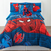 Marvel® Spider-Man® 2-pc. Twin/Full Reversible Comforter Set & Accessories
