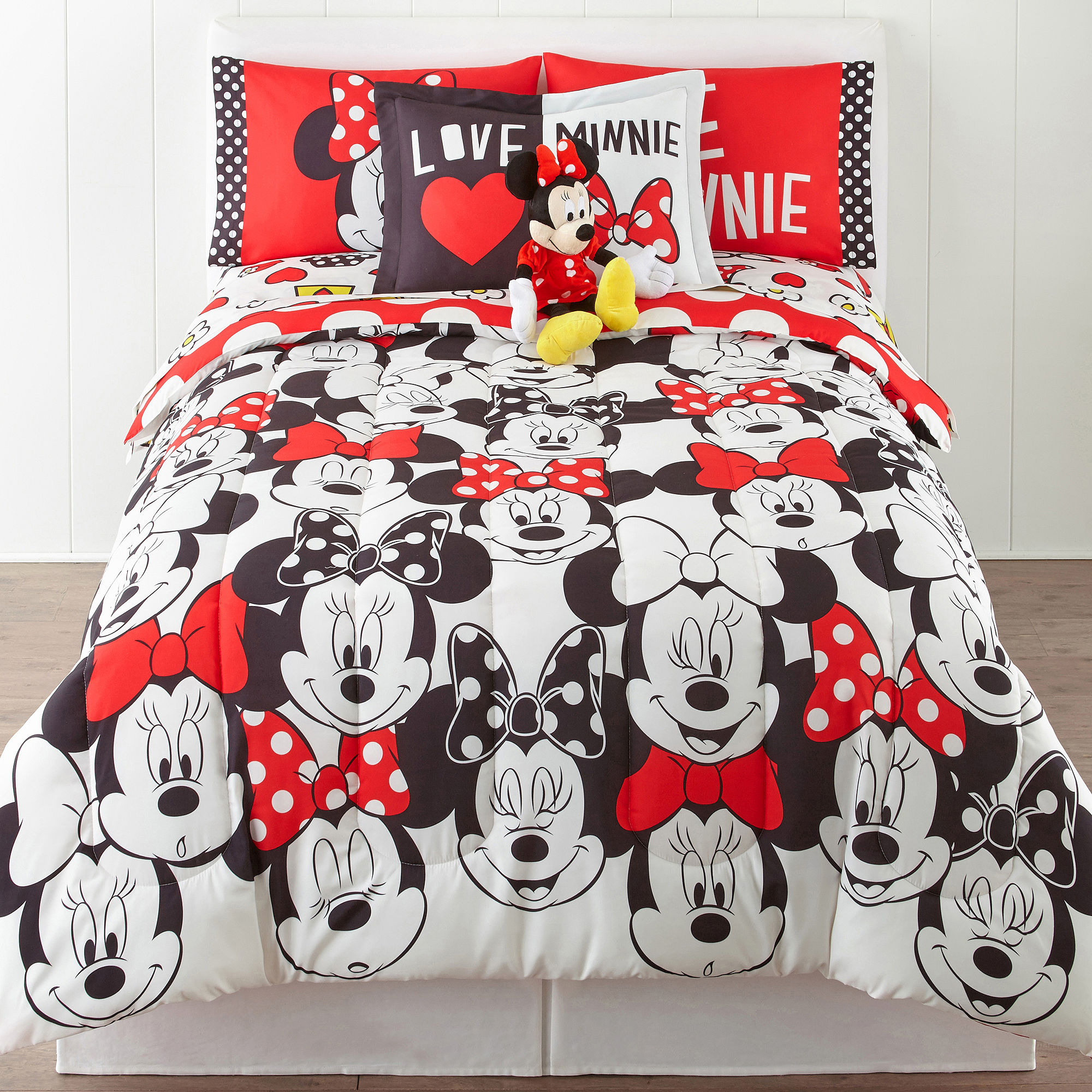 Minnie Mouse Who Am I 2-pc. Twin/Full Reversible Comforter Set
