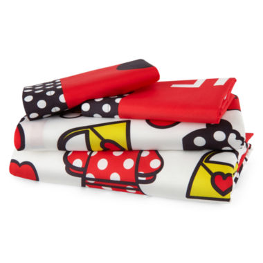 jcpenney.com | Disney® Minnie Mouse Who Am I Sheet Set