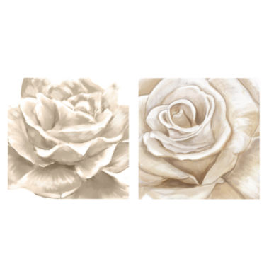 jcpenney.com | PTM Images™ White Roses Wall Art Collection