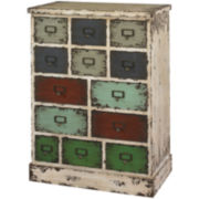 Sherwood 13-Drawer Storage Cabinet