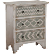 Aztec 3-Drawer Storage Chest