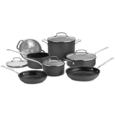 jcpenney.com | Cuisinart® Chefs Classic 11-pc. Hard-Anodized Cookware Set