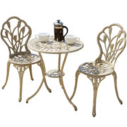Nassau 3-pc. Outdoor Bistro Set